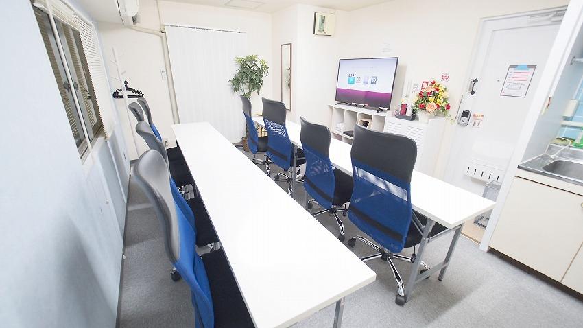 新宿@貸し会議室 レンタルスペース【マリーナ】上映会 映画祭 向けレイアウトです