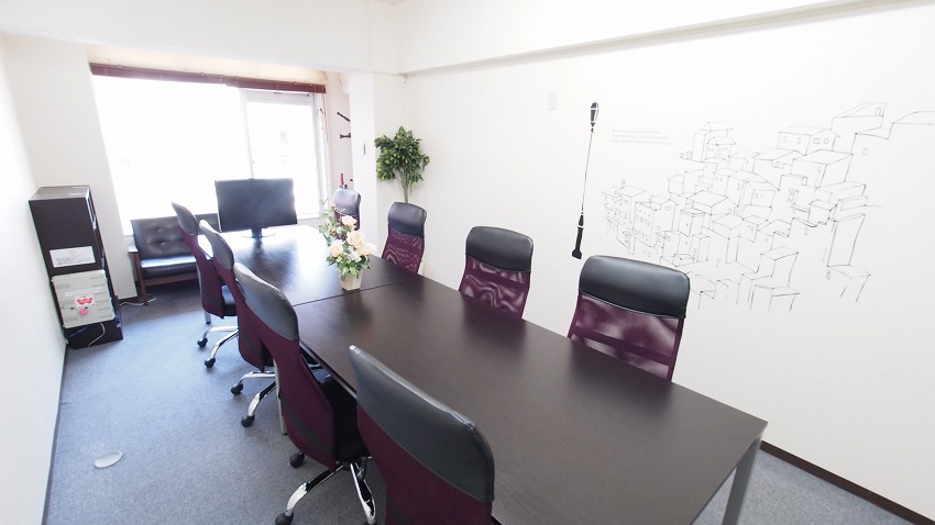 新宿 貸し会議室 レンタルスペース カサレス 会議 セミナー向けレイアウト