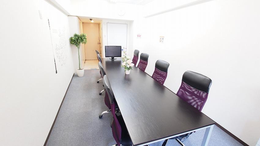 新宿 貸し会議室 レンタルスペース カサレス 会議 セミナー 説明会向けレイアウト