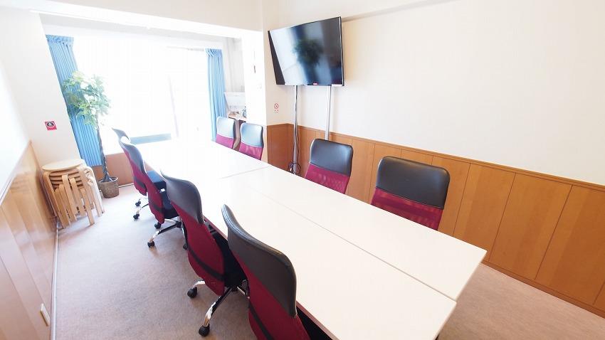 新宿 貸し会議室 レンタルスペース ルチア 会議 セミナー向けレイアウト