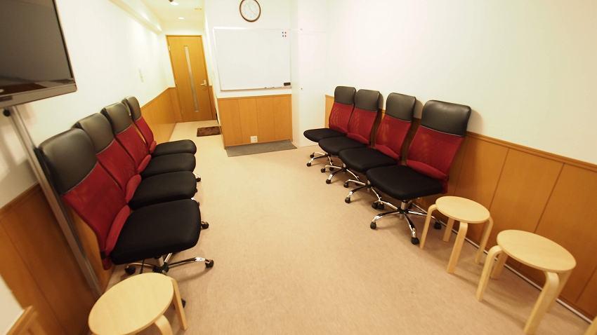 新宿 貸し会議室 レンタルスペース ルチア グループディスカッション向けレイアウト
