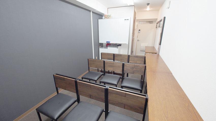 新宿 レンタルスペース 貸会議室 ショコラ 上映会向けレイアウト