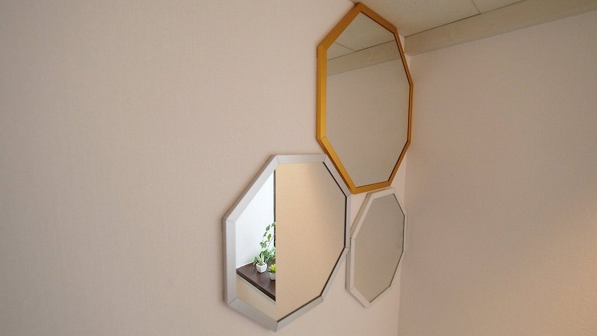 横浜 貸し会議室 レンタルスペース ワイナリー お手洗いの鏡