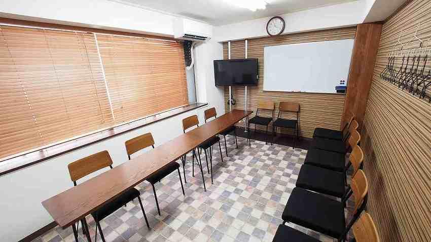横浜 貸し会議室 レンタルスペース ワイナリー 面接会場 模擬面接 オーディション向けレイアウト