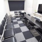 新宿 貸し会議室 レンタルスペース MOON 面接会場 模擬面接向けレイアウト