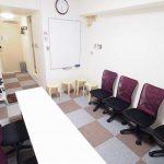 横浜 貸し会議室 レンタルスペース BASE 教室 セミナー 面接 模擬面接向けレイアウト