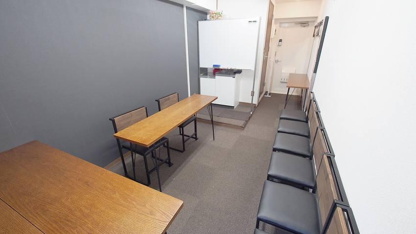 新宿 貸し会議室 レンタルスペース ショコラ 面接 オーディーションレイアウト