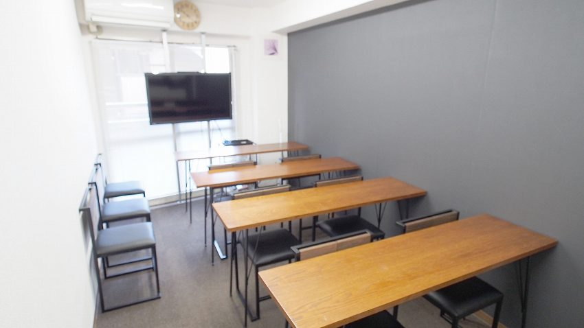 新宿 レンタルスペース 貸会議室 ショコラ 教室 セミナー 説明会向けレイアウト