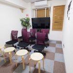 横浜 貸し会議室 レンタルスペース BASE セミナー 説明会 講習会向けレイアウト