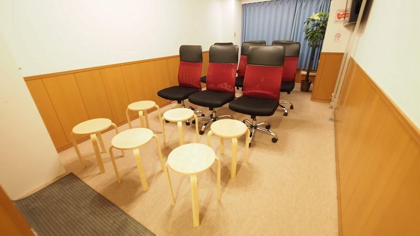 新宿 貸し会議室 レンタルスペース ルチア セミナー向けレイアウト