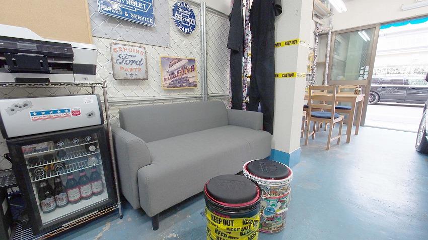 江東区 総武線 亀戸 貸し会議室 レンタルスペース 亀戸ベース ソファー