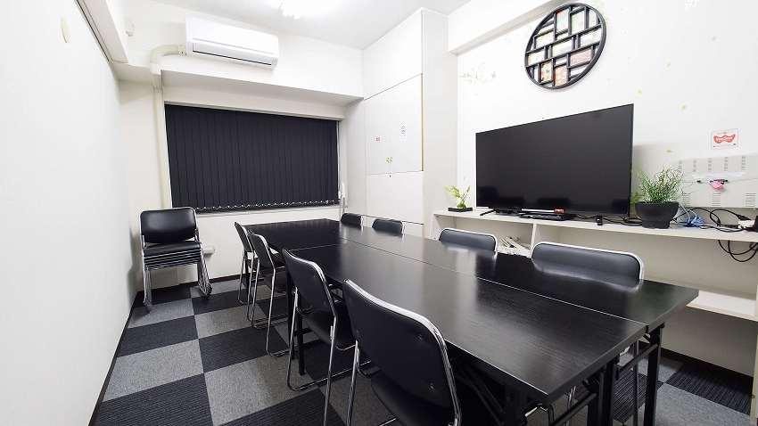 新宿 貸し会議室 レンタルスペース MOON 会議 ミーティング向けレイアウト