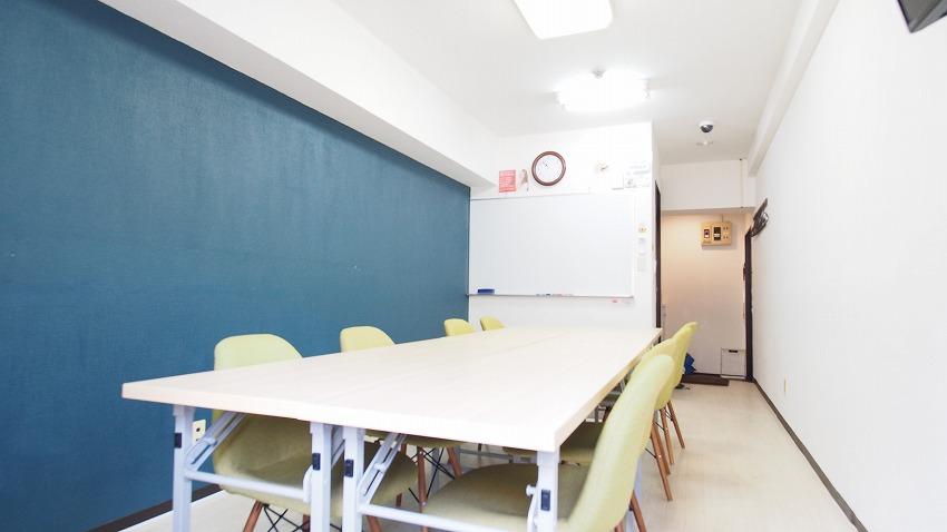 新宿 貸し会議室 レンタルスペース ラピスの会議 ミーティング用レイアウト