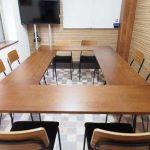 横浜 貸し会議室 レンタルスペース ワイナリー 会議レイアウトの変形