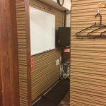 横浜 レンタルスペース ワイナリーに姿見鏡を設置しました