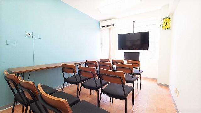 横浜貸し会議室テラスにDVDプレイヤーを設置しました
