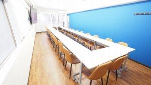 池袋 貸し会議室 レンタルスペース アズール は土足可能なレンタルスペースです