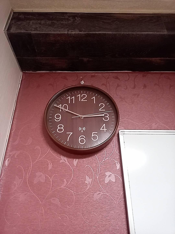 渋谷の貸し会議室 モルディブの電波時計