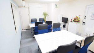 新宿で少人数利用におすすめのレンタルスペース・貸し会議室