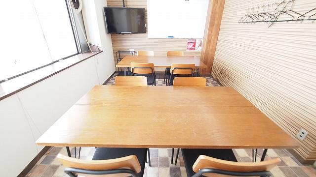 横浜貸し会議室ワイナリーのグループワークのレイアウト