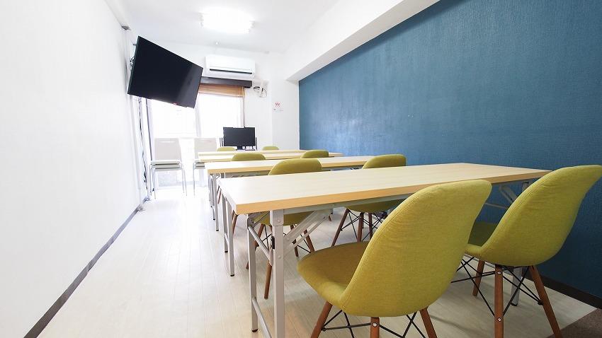 新宿駅徒歩1分 レッスンや講座に使える駅近の貸し会議室レンタルスペースラピス