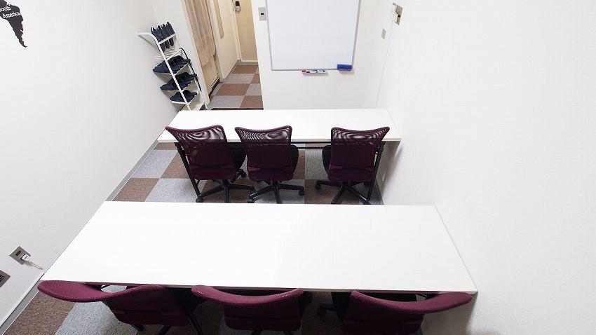 横浜貸し会議室レンタルスペースBASE教室セミナー説明会講習会向けレイアウト