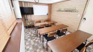 横浜貸し会議室レンタルスペースワイナリー教室セミナー説明会向けレイアウト