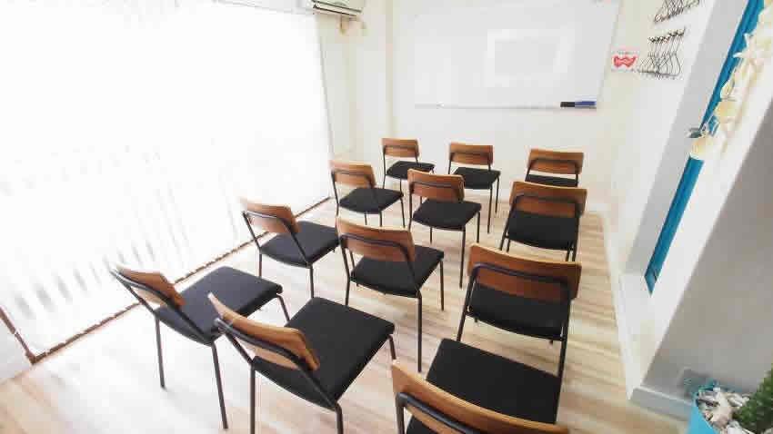 渋谷 貸し会議室 レンタルスペース マリブ セミナー 説明会 講習会向けレイアウト