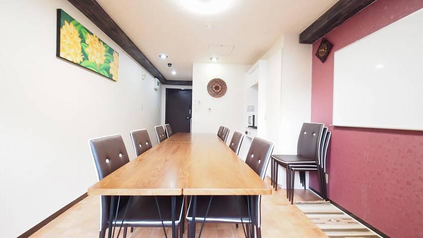 渋谷でカフェより落ち着いて作業ができる貸切スペース|貸し会議室・レンタルスペース「モルディブ」