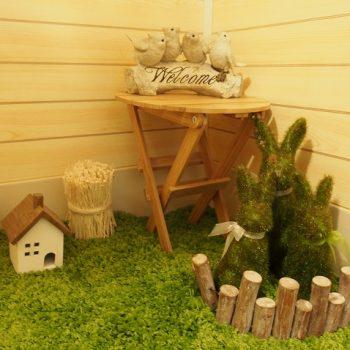 新宿のレンタルスペースお手洗いの飾りおしゃれで人気の会議室ラピス